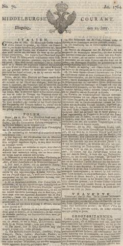 Middelburgsche Courant 1764-06-12