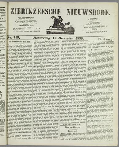 Zierikzeesche Nieuwsbode 1850-12-12