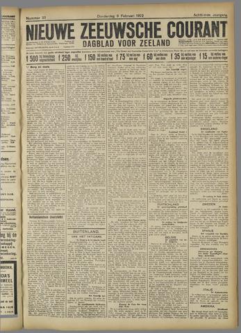Nieuwe Zeeuwsche Courant 1922-02-09