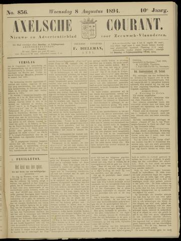 Axelsche Courant 1894-08-08