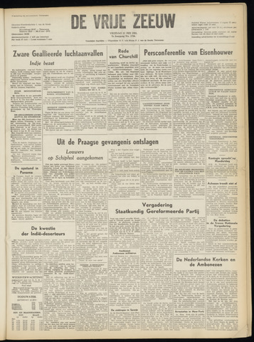 de Vrije Zeeuw 1951-05-11