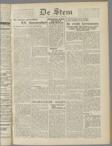 de Stem 1945-09-03