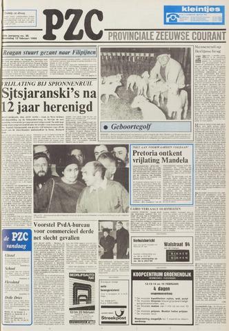 Provinciale Zeeuwse Courant 1986-02-12