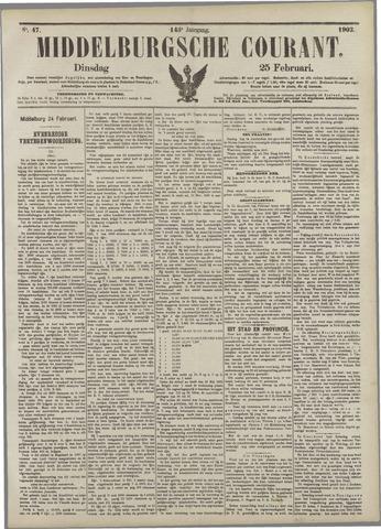 Middelburgsche Courant 1902-02-25
