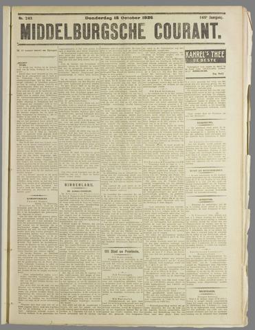 Middelburgsche Courant 1925-10-15