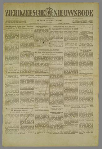 Zierikzeesche Nieuwsbode 1952