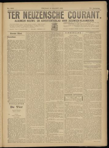 Ter Neuzensche Courant. Algemeen Nieuws- en Advertentieblad voor Zeeuwsch-Vlaanderen / Neuzensche Courant ... (idem) / (Algemeen) nieuws en advertentieblad voor Zeeuwsch-Vlaanderen 1933-03-10