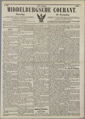 Middelburgsche Courant 1902-12-22