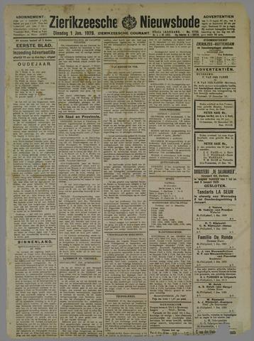 Zierikzeesche Nieuwsbode 1929