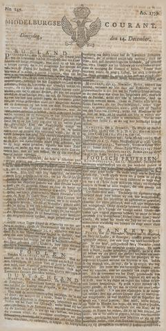 Middelburgsche Courant 1779-12-14