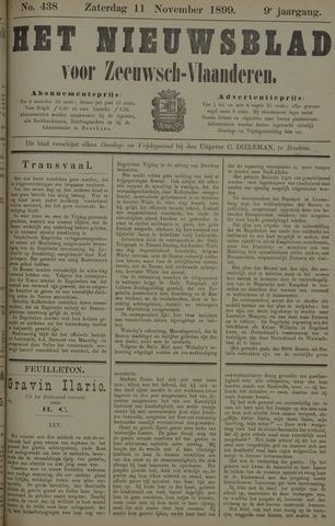 Nieuwsblad voor Zeeuwsch-Vlaanderen 1899-11-11