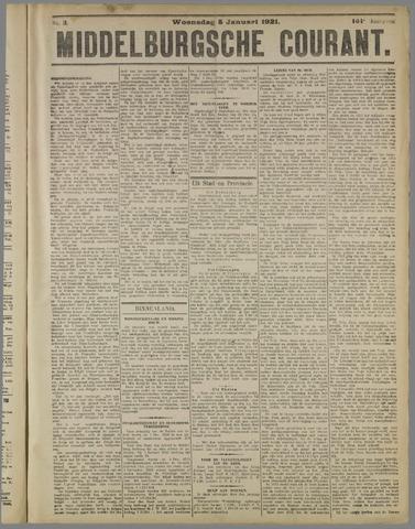 Middelburgsche Courant 1921-01-05