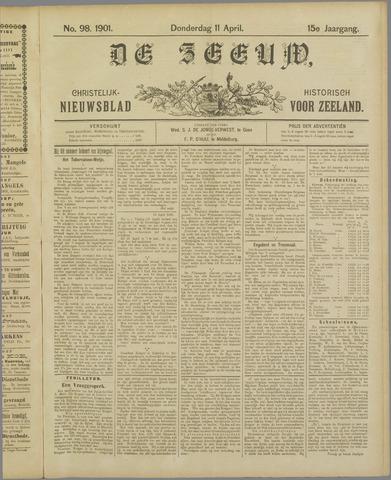 De Zeeuw. Christelijk-historisch nieuwsblad voor Zeeland 1901-04-11