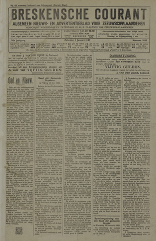 Breskensche Courant 1927