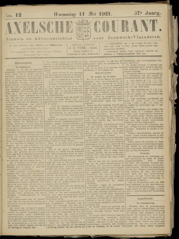 Axelsche Courant 1921-05-11
