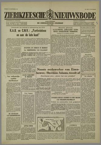 Zierikzeesche Nieuwsbode 1958-09-23
