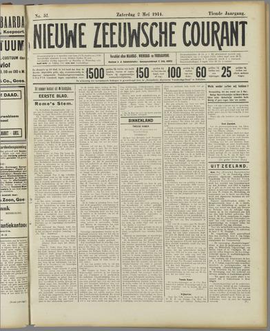 Nieuwe Zeeuwsche Courant 1914-05-02