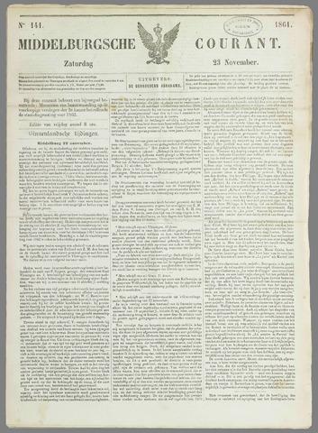 Middelburgsche Courant 1861-11-23