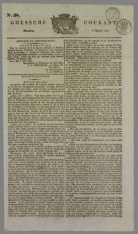 Goessche Courant 1833-04-08