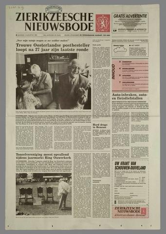 Zierikzeesche Nieuwsbode 1993-08-09