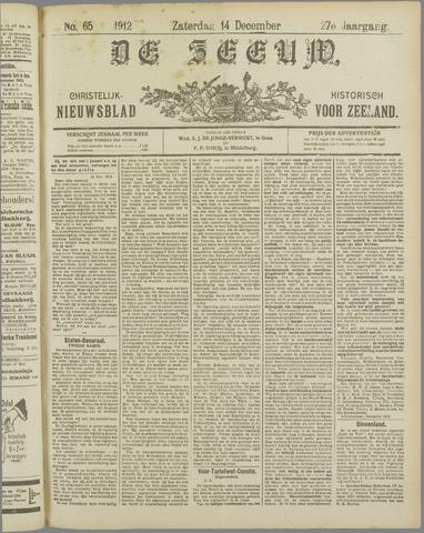De Zeeuw. Christelijk-historisch nieuwsblad voor Zeeland 1912-12-14