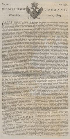 Middelburgsche Courant 1776-06-13