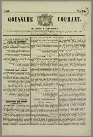 Goessche Courant 1851-09-08