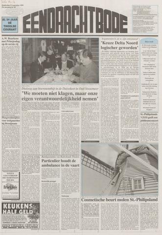 Eendrachtbode (1945-heden)/Mededeelingenblad voor het eiland Tholen (1944/45) 1999-09-23
