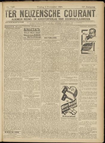 Ter Neuzensche Courant. Algemeen Nieuws- en Advertentieblad voor Zeeuwsch-Vlaanderen / Neuzensche Courant ... (idem) / (Algemeen) nieuws en advertentieblad voor Zeeuwsch-Vlaanderen 1926-11-05