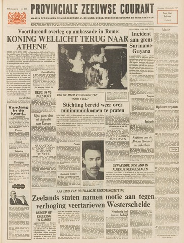 Provinciale Zeeuwse Courant 1967-12-16
