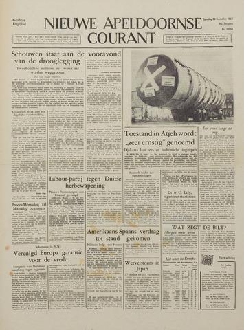 Watersnood documentatie 1953 - kranten 1953-09-26