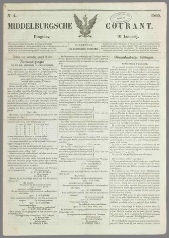 Middelburgsche Courant 1860-01-10