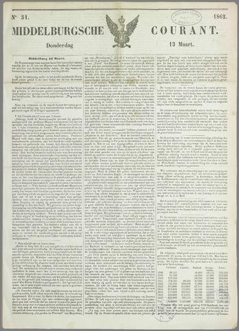 Middelburgsche Courant 1862-03-13