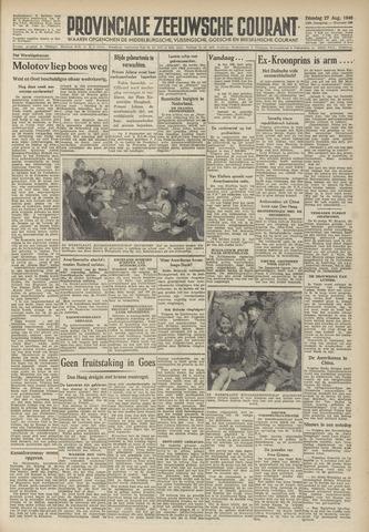 Provinciale Zeeuwse Courant 1946-08-27
