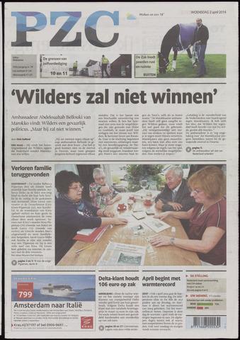 Provinciale Zeeuwse Courant 2014-04-02