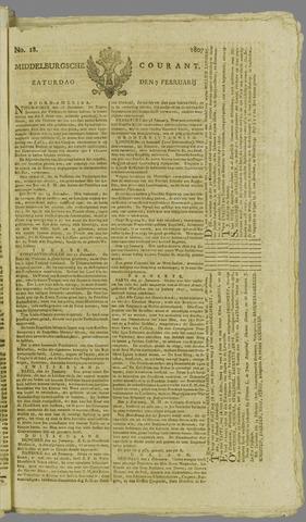 Middelburgsche Courant 1807-02-07