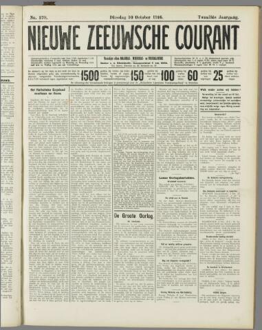 Nieuwe Zeeuwsche Courant 1916-10-10