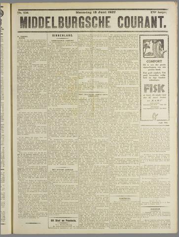 Middelburgsche Courant 1927-06-13