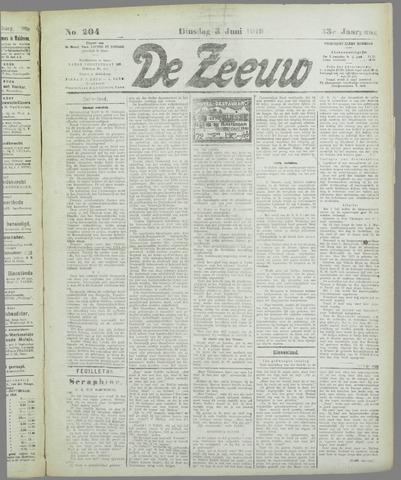 De Zeeuw. Christelijk-historisch nieuwsblad voor Zeeland 1919-06-03