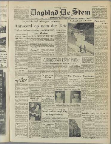de Stem 1951-01-03