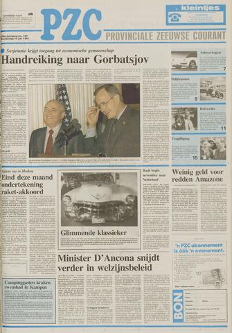 Provinciale Zeeuwse Courant 1991-07-18