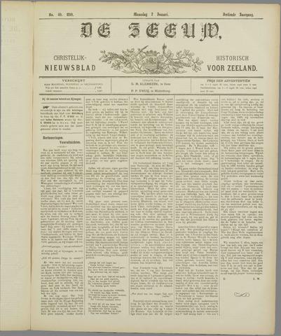 De Zeeuw. Christelijk-historisch nieuwsblad voor Zeeland 1899