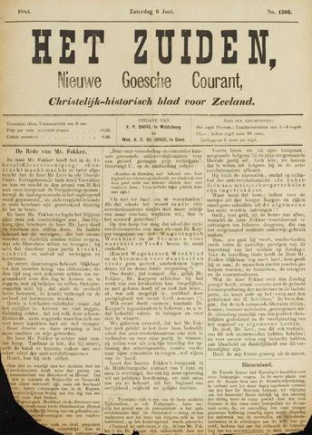 Het Zuiden, Christelijk-historisch blad 1885-06-06