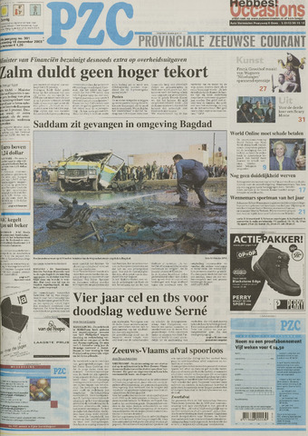 Provinciale Zeeuwse Courant 2003-12-18