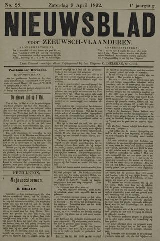 Nieuwsblad voor Zeeuwsch-Vlaanderen 1892-04-09
