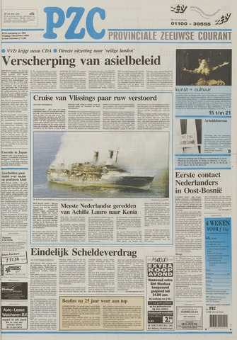 Provinciale Zeeuwse Courant 1994-12-02