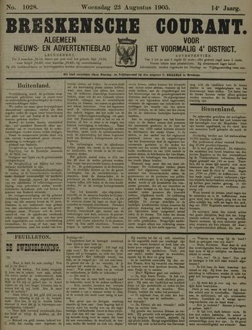 Breskensche Courant 1905-08-23
