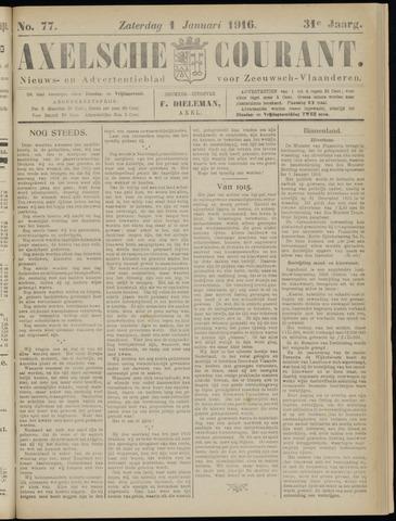 Axelsche Courant 1916