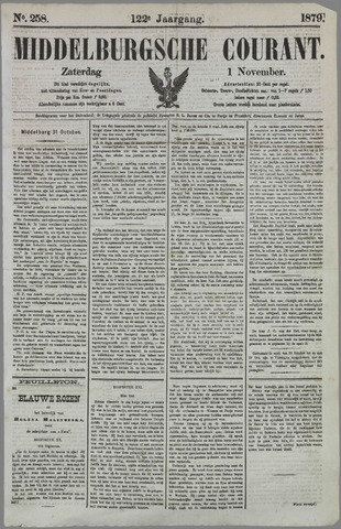 Middelburgsche Courant 1879-11-01