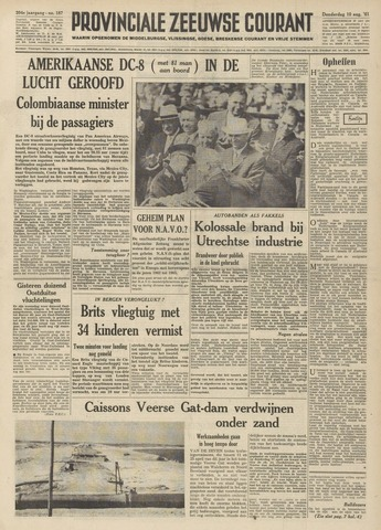Provinciale Zeeuwse Courant 1961-08-10